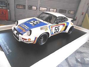 【送料無料】模型車 モデルカー スポーツカー ポルシェカレラルマン#レナスパークporsche 911 carrera 30 rsr le mans 1975 55 ballotlena bienvenue b spark 118