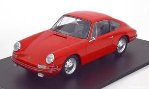 【送料無料】模型車 モデルカー スポーツカー スパークポルシェレッドハット118 spark porsche 911 901 1963 red