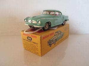 【送料無料】模型車 モデルカー スポーツカー フランスイザベーペfrench dinky toys 549 borgward isabella coupe mib 9 en boite very nice lk