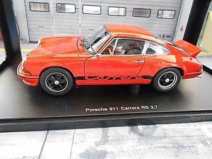 【送料無料】模型車 モデルカー スポーツカー ポルシェカレラランプオレンジモデルアヒルporsche 911 carrera 27 rs 1973 entenbrzel orange fmodell 78054 autoart 118