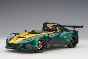 【送料無料】模型車 モデルカー スポーツカー グリーンイエローモデルlotus 3eleven grngelb modellauto 118 autoart