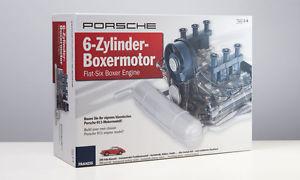 【送料無料】模型車 モデルカー スポーツカー ポルシェシリンダーボクサーエンジンモジュラーキットモデルマップporsche 6 zylinder boxermotor, baukasten bausatz 14 franzis modell map09028016