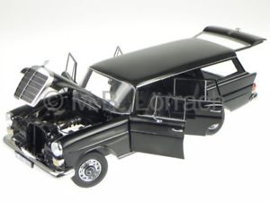 【送料無料】模型車 モデルカー スポーツカー メルセデステールフィンユニバーサルブラックモデルカー