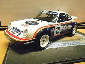【送料無料】模型車 モデルカー スポーツカー ポルシェカレラツールドコルスラリー#オットーporsche 911 carrera scrs rallye tour de corse 1985 10 beguin ro otto rar 118