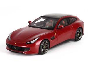 【送料無料】模型車 モデルカー スポーツカー フェラーリロッソフィオラノbbr ferrari gtc4 lussot 2016 rosso fiorano 143 bbrc191d