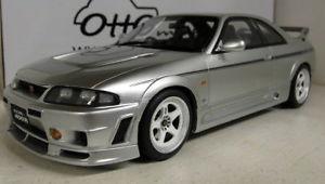 【送料無料】模型車 モデルカー スポーツカー オットースケールモデルスカイラインニスモシルバーotto 118 scale resin model ot670 nissan skyline gtr r33 nismo 400r silver