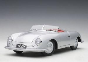 【送料無料】模型車 モデルカー スポーツカー ポルシェシルバーautoart 118 78072 porsche 356 number 1 silver neu