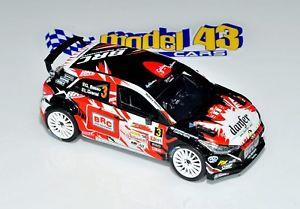 【送料無料】模型車 モデルカー スポーツカー ヒョンデバッソマデイララリーhyundai i20 r5   basso  rally madeira 2017