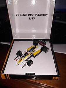 【送料無料】模型車 モデルカー スポーツカー スパークルノー#タンプロモーションspark 143 renault re60 15 1985 p tambay promotional