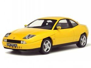 【送料無料】模型車 モデルカー スポーツカー フィアットクーペターボイエローモデルカーオットーfiat coupe turbo 20v gelb modellauto ot644 otto 118