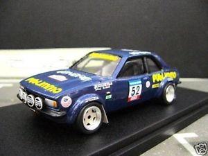 【送料無料】模型車 モデルカー スポーツカー オペルアスコナラリーキットopel ascona b rallye tdc 52 publimmo venere umbau gebauter bausatz 143