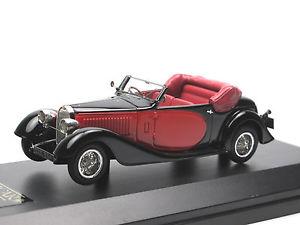 【送料無料】模型車 モデルカー スポーツカー ブガッティタイプドロップヘッドクーペブラックレッド
