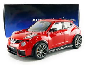【送料無料】模型車 モデルカー スポーツカー ジュークautoart 118 nissan juke r 20 77457