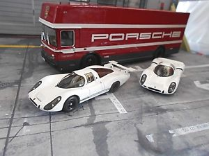 【送料無料】模型車 モデルカー スポーツカー ポルシェレースカートランスポーターメルセデスポルシェset 70 jahre porsche renntransporter mercedes porsche 908 kh lh schuco 143