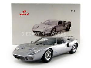 【送料無料】模型車 モデルカー スポーツカー スパークフォードspark 118 ford gt40 1966 18s293