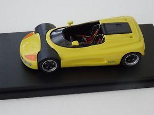 【送料無料】模型車 モデルカー スポーツカー モデルフェラーリalezan models 143 michalak ferrari cilindro concept jaune 1989