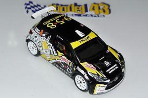 【送料無料】模型車 モデルカー スポーツカー シトロエンサンレモラリーcitroen ds3 r5  ciavarella  rally sanremo 2016