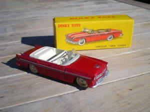 【送料無料】模型車 モデルカー スポーツカー クライスラーニューヨーカーneues angebotdinky toys 24a chrysler yorker a b