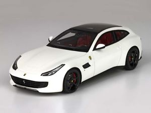 【送料無料】模型車 モデルカー スポーツカー フェラーリビアンコイタリアバイbbr ferrari gtc4 lussot bianco italia 143 bbrc191bi