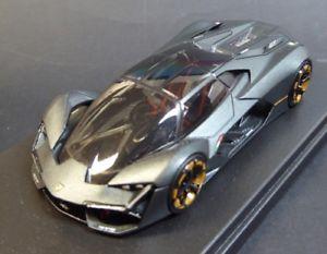 【送料無料】模型車 モデルカー スポーツカー ランボルギーニコンセプトlamborghini terzo millennio concept 2018 nero opaco looksmart ls487