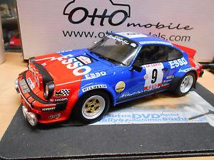 【送料無料】模型車 モデルカー スポーツカー ポルシェカレラツールドコルスラリーヘンリーオットーporsche 911 carrera sc tour de corse rallye 1980 esso therier rar otto 118