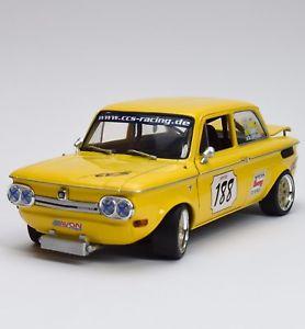【送料無料】模型車 モデルカー スポーツカー プリンスカップrevell 08456 nsu 1300 prinz tt cup r rtzer mit zertifikat, 118, ovp, k024