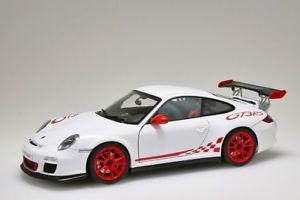 【送料無料】模型車 モデルカー スポーツカー ポルシェカレラホワイトporsche 911 997 gt3 rs 38 2010 carrera white  autoart 118 neuovp