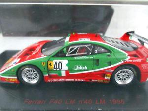【送料無料】模型車 モデルカー スポーツカー レッドラインフェラーリ#ルマンred line 143 ferrari f40 40 le mans 1995 rl055