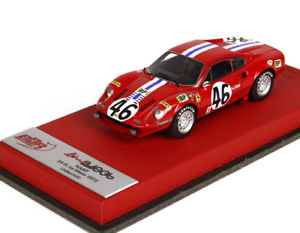 【送料無料】模型車 モデルカー スポーツカー ディーノフェラーリグアテマラルマンプリdino ferrari 246 gt 24 heures du mans 1972 n46 bbr bbrc75pre 143