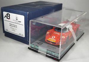 【送料無料】模型車 モデルカー スポーツカー マセラティマセラティグアテマラバレンティーノロッシテストミサノチームレーシングボックスmaserati mc12 gt1 valentino rossi test misano team racing box 2006 abb bbr 143