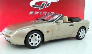 【送料無料】模型車 モデルカー スポーツカー グアテマラポルシェカブリオレゴールドgt spirit 118 gt002cs porsche 944 s2 cabriolet gold