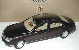 【送料無料】模型車 モデルカー スポーツカー ゲートウェイマイバッハネロタイプgateway 118 maybach 57 nero marrone art b66962158