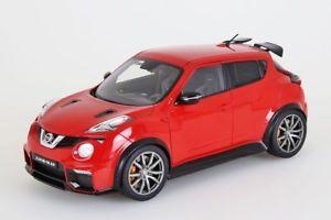 【送料無料】模型車 モデルカー スポーツカー ジュークnissan juke r 20 2016 red autoart 118 neuovp