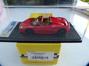 【送料無料】模型車 モデルカー スポーツカー ルピーフェラーリスパイダーロッソスクーデリア1 43 bbr c70rs ferrari 458 spider 2011 rosso scuderia 20 pces