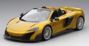 【送料無料】模型車 モデルカー スポーツカー マクラーレンクモモデルmclaren 675lt spider solis 118 model true scale miniatures
