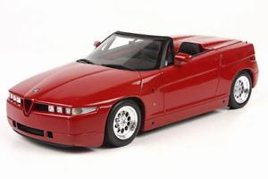 【送料無料】模型車 モデルカー スポーツカー アルファロメオトップマルケストップalfa romeo rz red 1992 top marques 118 top09a