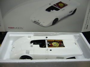 【送料無料】模型車 モデルカー スポーツカー ポルシェプロトタイプシリンダフラットレーシングホワイトテストporsche 917 prototyp flat 16 zylinder 1971 racing white test tsm 118