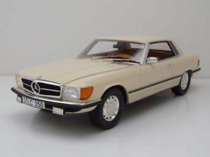 【送料無料】模型車 モデルカー スポーツカー メルセデスクーペホワイトモデルカースケールモデルカルトmercedes 350 slc coupe c107 1973 wei, modellauto 118 cult scale models