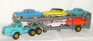 【送料無料】模型車 モデルカー スポーツカー トラックトランスポータートラックプラスチックalter norev lkw autotransporter lastwagen 143 plastik 5 autos tracteur tbo 15