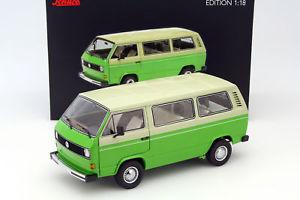 【送料無料】模型車 モデルカー スポーツカー フォルクスワーゲンフォルクスワーゲンバスグリーンベージュvolkswagen vw t3 bus baujahr 197982 grn beige 118 schuco