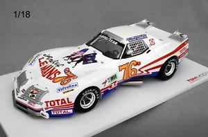 【送料無料】模型車 モデルカー スポーツカー シボレーコルベットグリーンウッドルマン#chevrolet corvette greenwood 24 heures du mans 1976 76 tsm 111810r 118