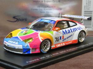 【送料無料】模型車 モデルカー スポーツカー スパークポルシェグアテマラ#ルマンspark 143 porsche 911 996 gt3 rsr 76 le mans 2006 s0969