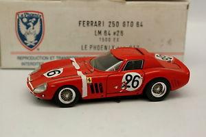 【送料無料】模型車 モデルカー スポーツカー ルフェニックスフェラーリルマンamr le phoenix 143 ferrari 250 gto 64 le mans 1964 n26