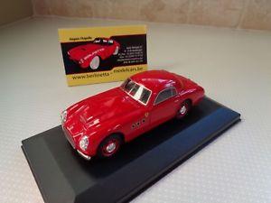 【送料無料】模型車 モデルカー スポーツカー モデルフェラーリスポーツボックスtron handbuilt model ferrari 166 sport allemano 1950 143 in displaybox