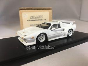 【送料無料】模型車 モデルカー スポーツカー キットフェラーリターボエンブレムキットhilario kit 143 ferrari 308 gts qv turbo emblem white kit066 no bbr