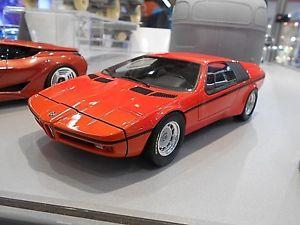 【送料無料】模型車 モデルカー スポーツカー ターボコンセプト×オレンジbmw m1 turbo concept studie x1 e25 orange 1972 resin rar schuco 118