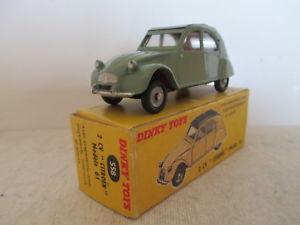 【送料無料】模型車 モデルカー スポーツカー フランスシトロエンfrench dinky toys 558 citroen 2cv 196062 mib 9 en boite very nice lk
