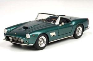 【送料無料】模型車 モデルカー スポーツカー フェラーリカリフォルニアニーナカーンヴェルデbbr ferrari 250 gt california swb nina khan 1962 verde 143 car33a