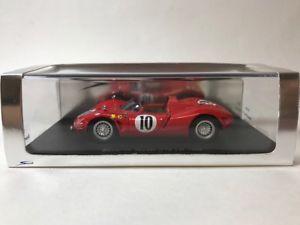 【送料無料】模型車 モデルカー スポーツカー スパークスパイダー#ルマンspark 143 bizzarrini spyder 10 le mans 1966 s0389