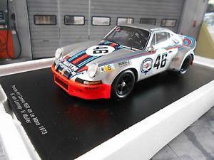 【送料無料】模型車 モデルカー スポーツカー ポルシェカレラルマン#ミュラーマルティニレーシングスパークporsche 911 carrera rsr le mans 1973 martini racing 46 mller lenne spark 118
